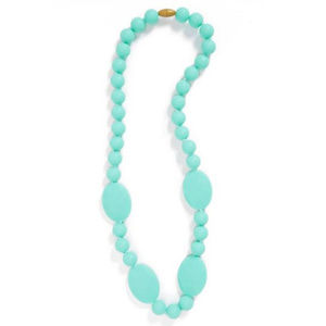 NEW! Chewbeads 'PERRY' Teether Necklace in MINT